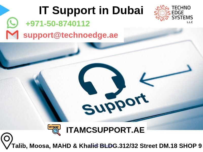 IT Support in Dubai for your Organization - Techno Edge Systems LLC
