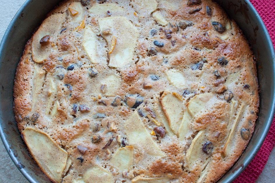 Russian Apple Cake - Sharlotka