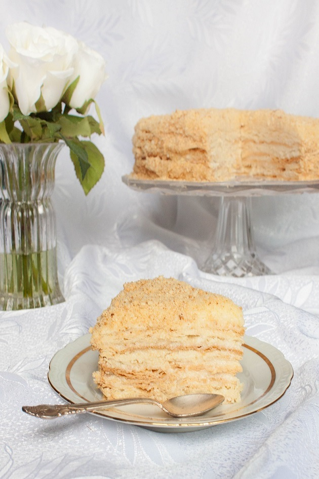 Cake Napoleon - Russian Mille-feuille