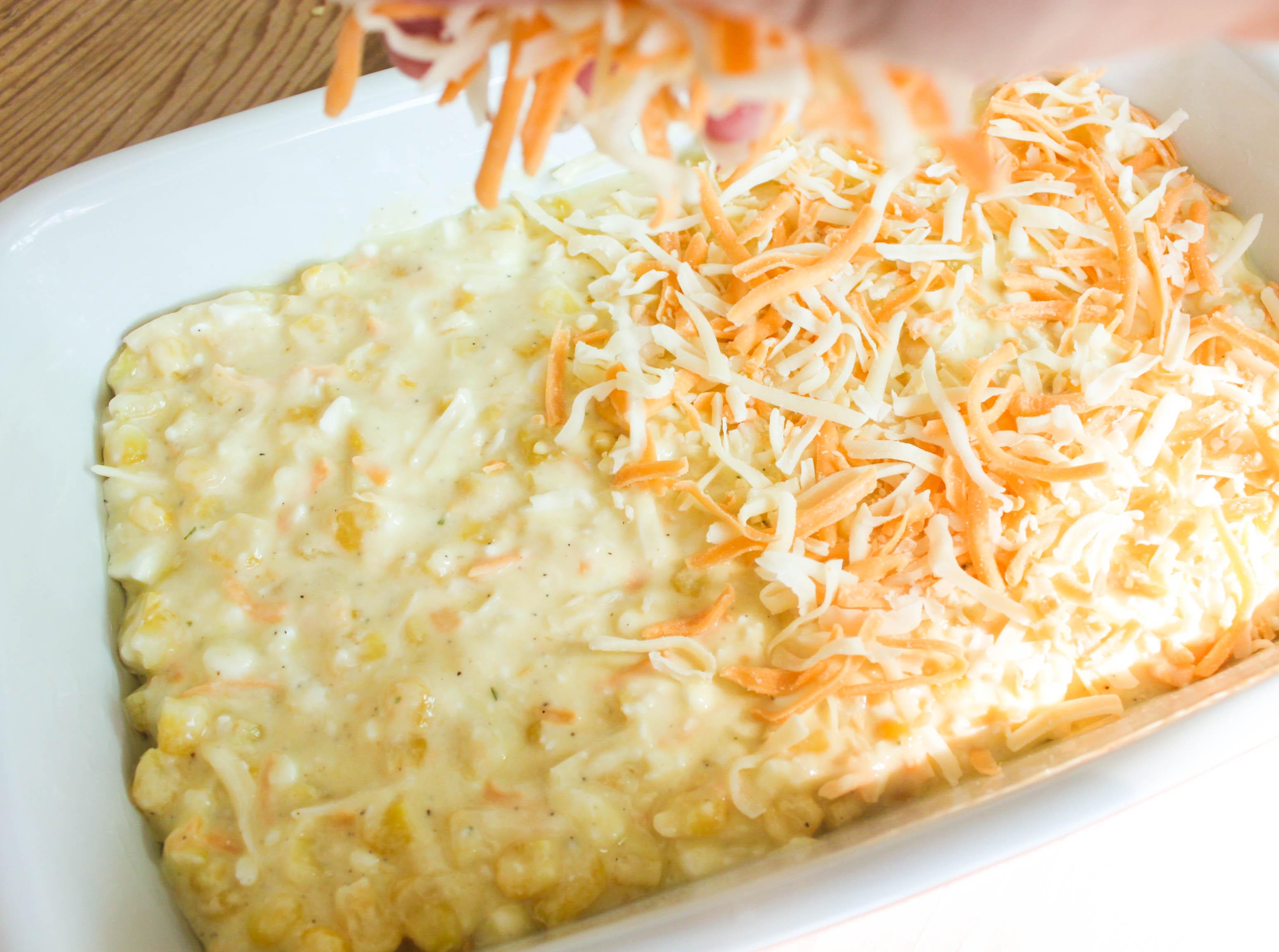 Corn quiche