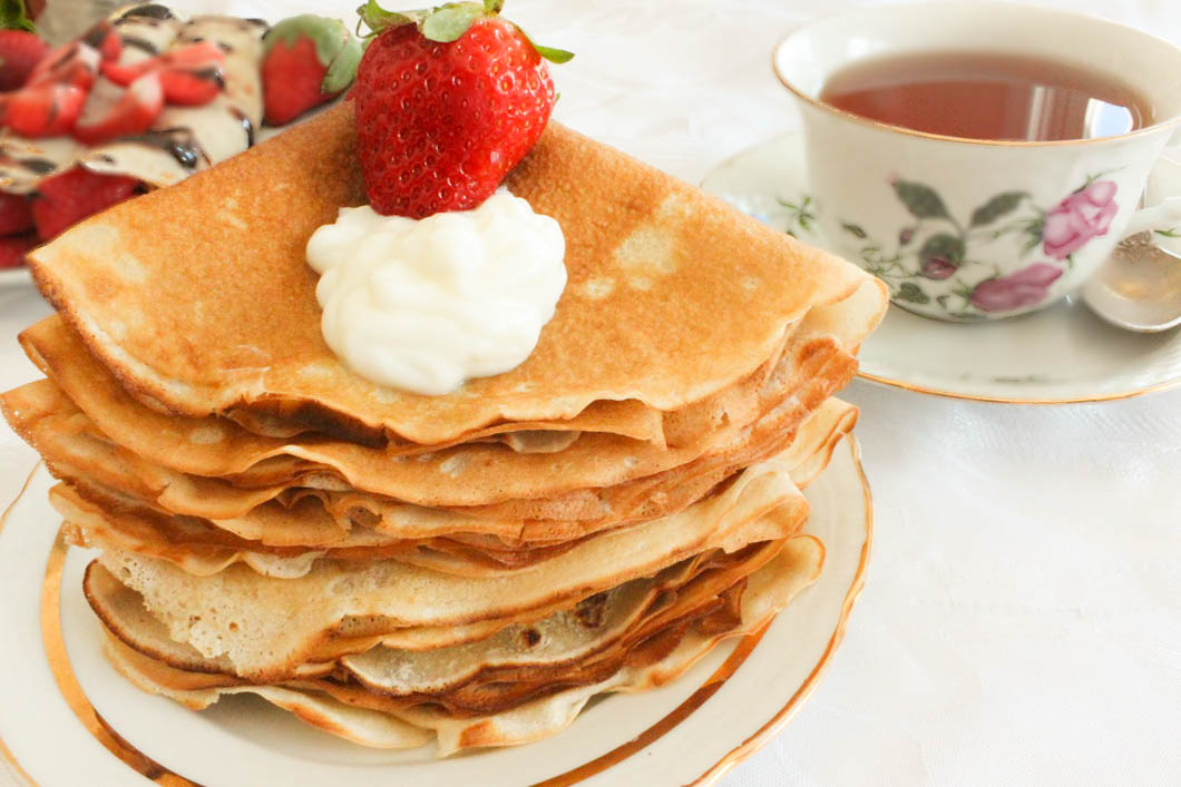 Russian Crepes - Blini