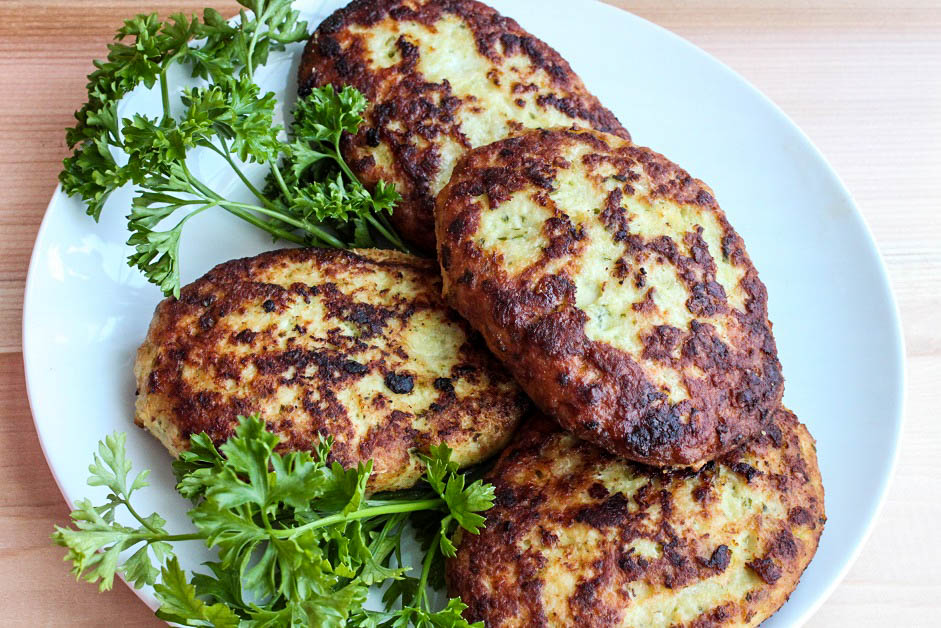 Chicken Burgers - Russian Kotleti