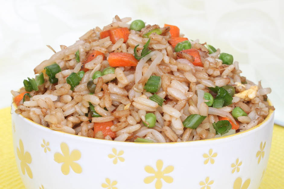 Fried Rice with Vegetables