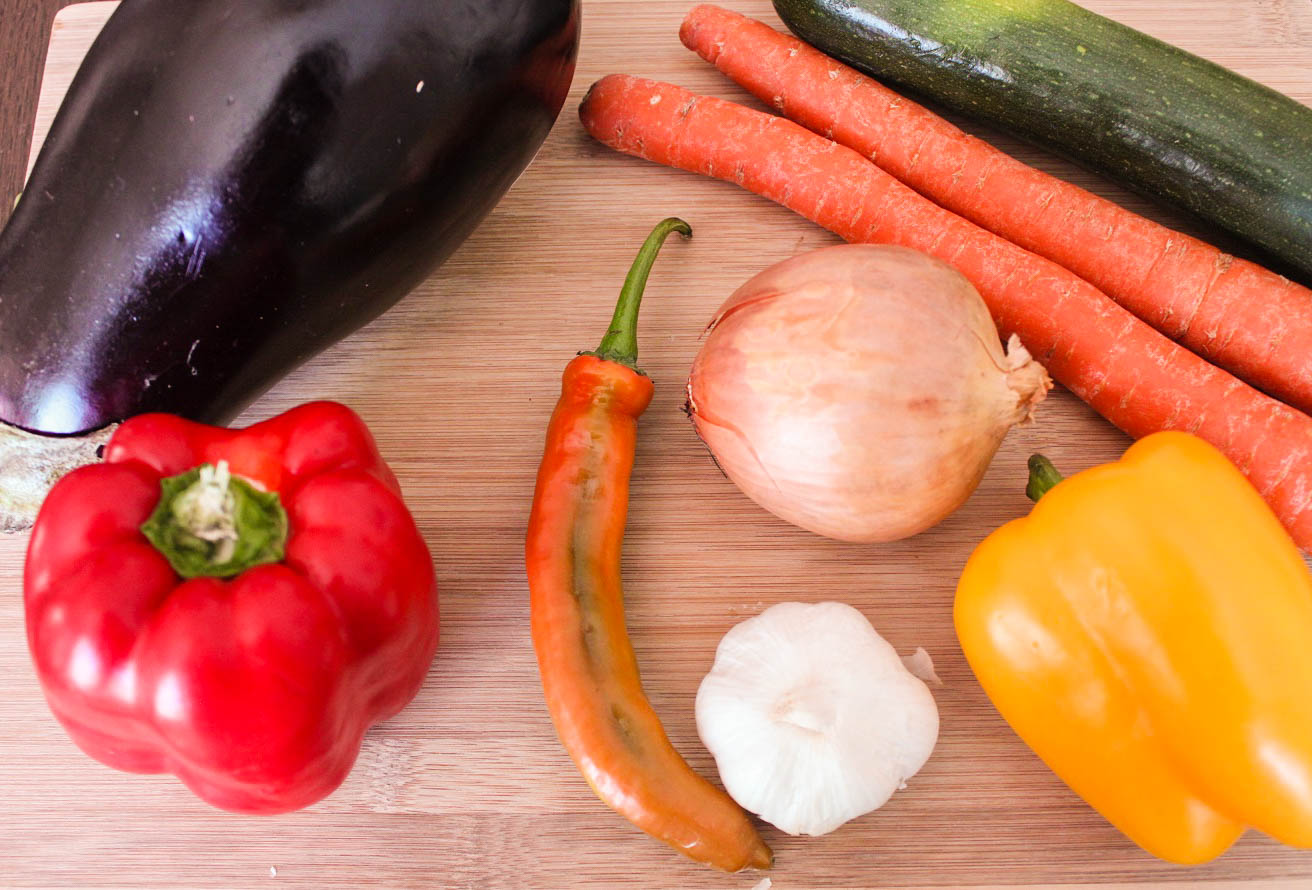 Vegetables to saute