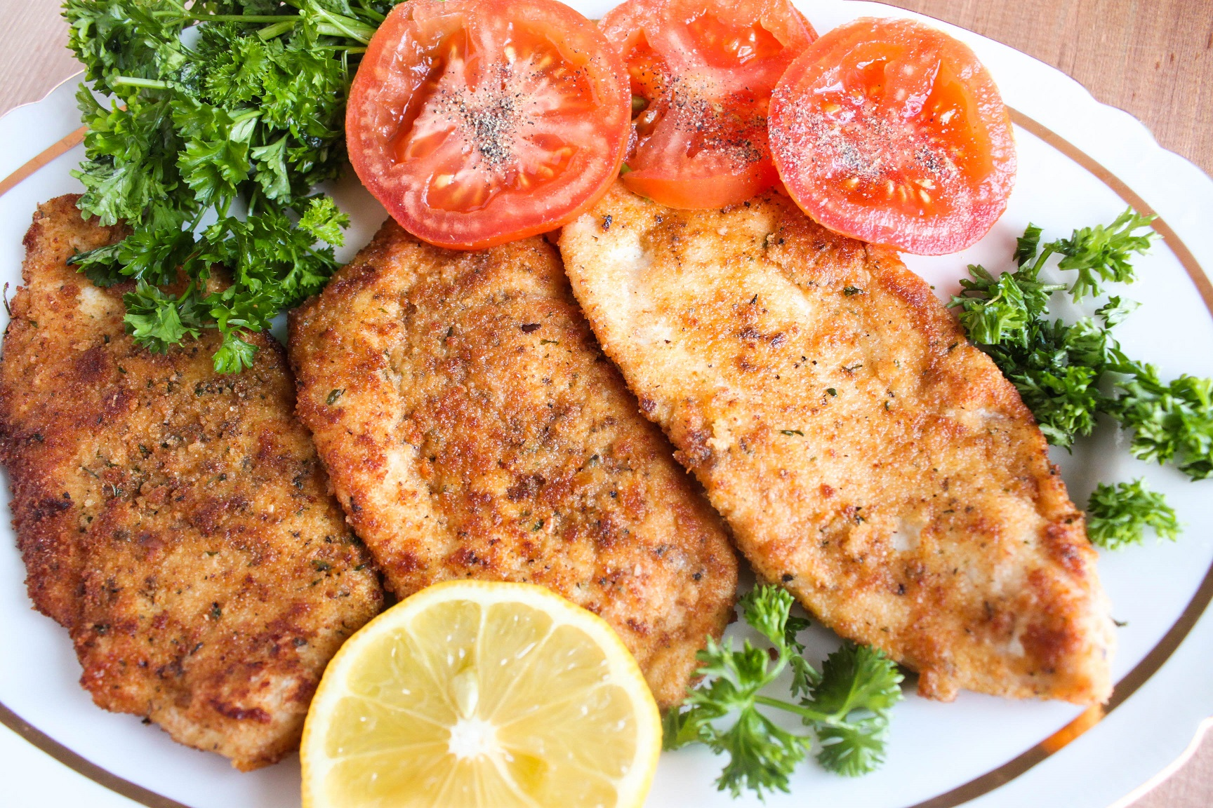Juicy and  flavorful Chicken chops - tasty and easy to make!