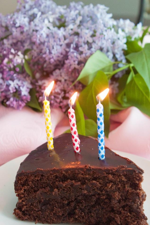 Delicious Double Chocolate Cake
