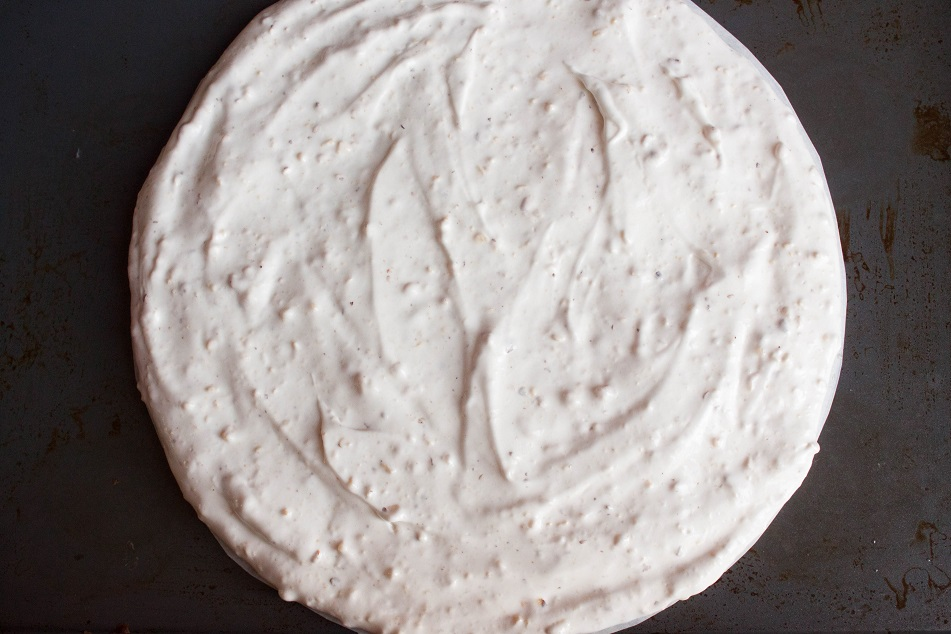 Hazelnut meringue