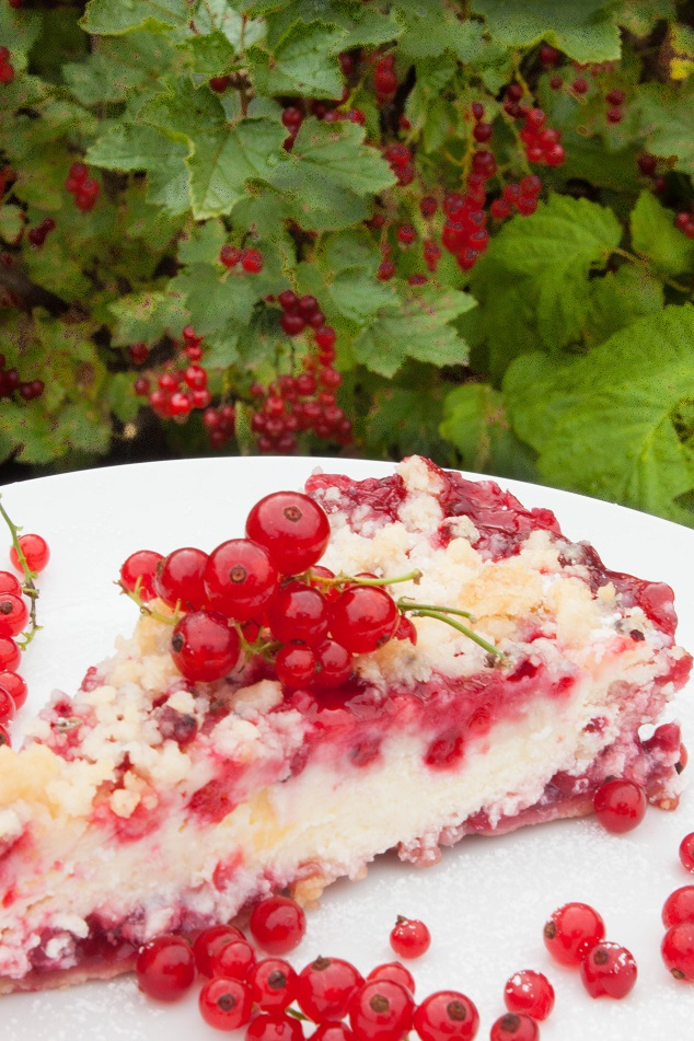 Red Currant Lemon Cake